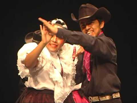 Ballet Folklórico Fiesta Mexicana Estampa de la Región Laguna de Coahuila de Zaragoza. México.
