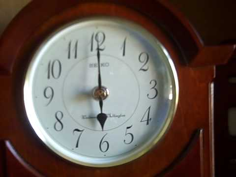 Sekio Westminster Chime Clock & Garrard Chime Clock.AVI