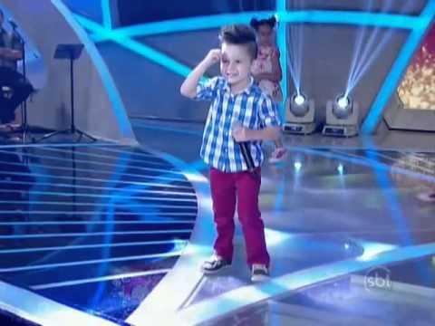 SHOW de Nicollas Gabriel Cantando Fui Fiel no Programa Raul Gil Eu e as Crianças