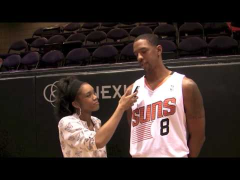 2013 SUNS Media Day - The Return Of Channing Frye