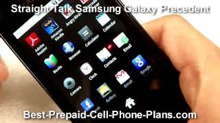 Samsung Galaxy Precedent Straight Talk Android Phone