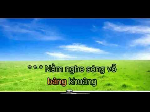 biển tình karaoke không lời - YouTube.flv
