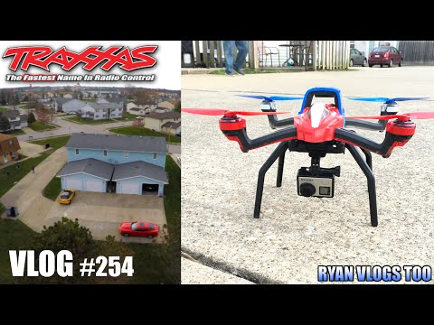 FLYING A DRONE IN 4K! Traxxas Aton + GoPro HERO4 Black (Vlog #254)
