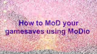 How To Mod Game Saves Using Modio