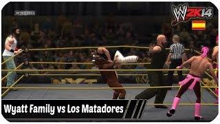 WWE 2K14 The Wyatt Family Vs Los Matadores & Torito
