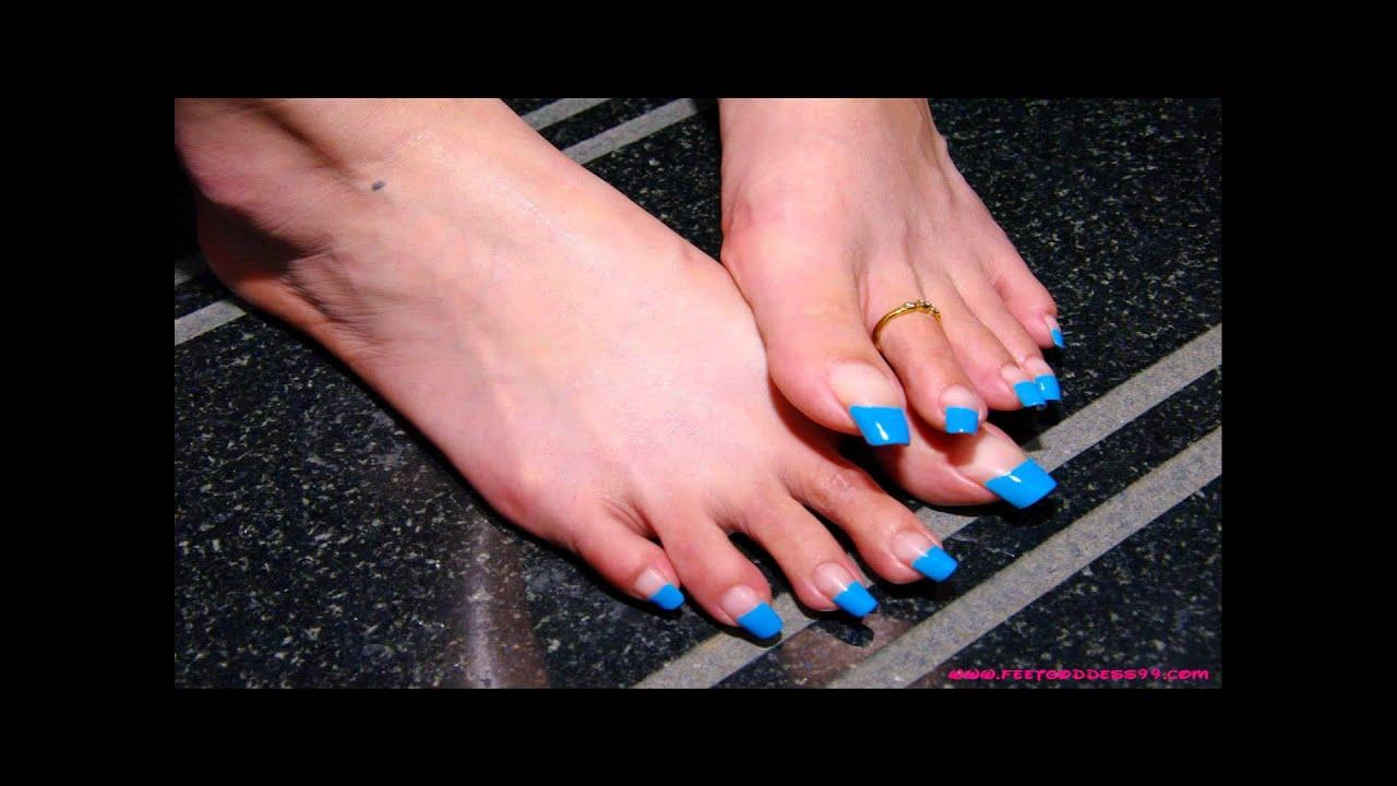 Long toenail job foot