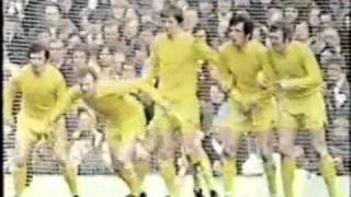 Leeds United V Birmingham City F.A. Cup Semi Final 1972