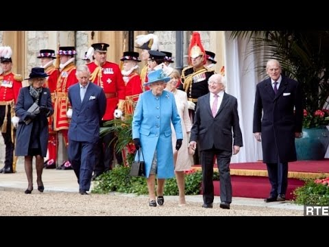 Historic U.K. State Visit Underway By Irish President