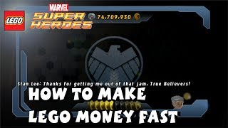 Lego Marvel Super Heroes How To Make Money Fast 1080P HD