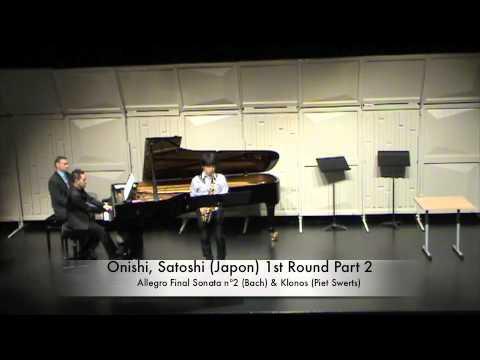 Onishi, Satoshi (Japon) 1st Round Part 2