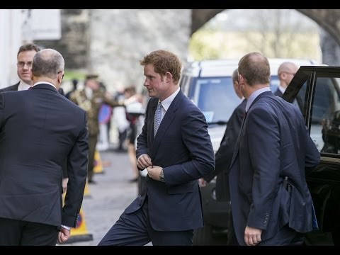 Prince Harry in Tallinn, ESTONIA