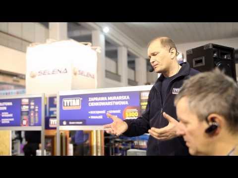 Tytan - Mocne murowanie na zaprawie w puszce TYTAN - film instruktażowy z targów Budma 2013