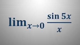 Limita trigonometrične funkcije 2