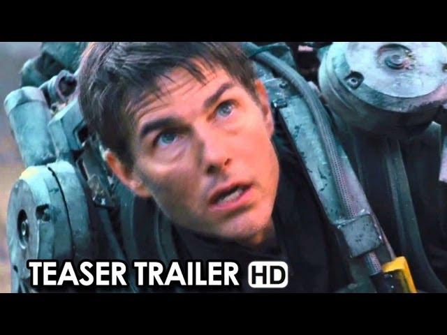 Edge Of Tomorrow Official Teaser Trailer #1 (2014) HD