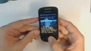 Samsung Galaxy Mini S5570 Hard Reset