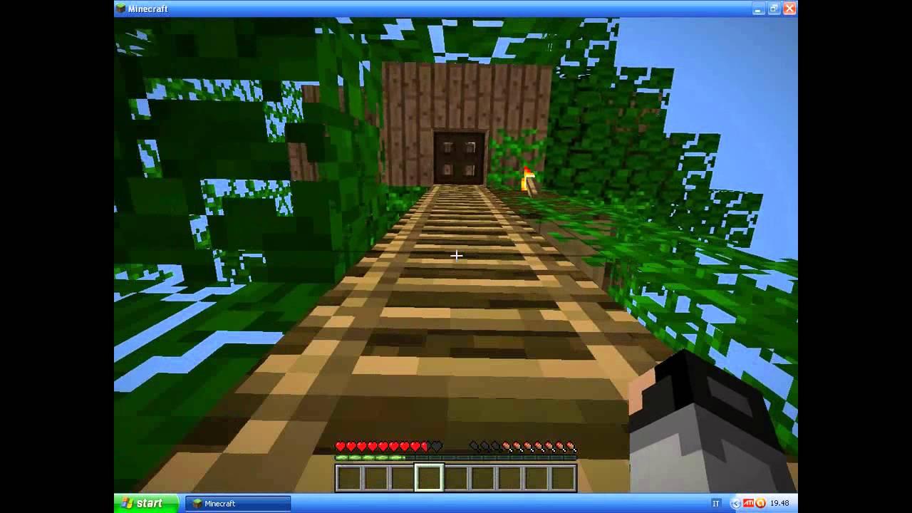 Minecraft come fare una casa sull 39 albero esempio youtube - Come costruire una casa sull albero ...