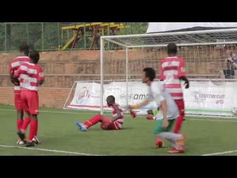 Match Day 2 Goals! Street Child World Cup Rio 2014
