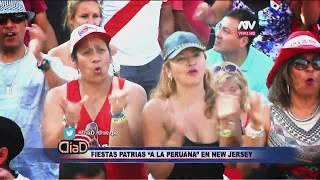 Peruanos celebran por adelantado las fiestas patrias en el festival de New Jersey