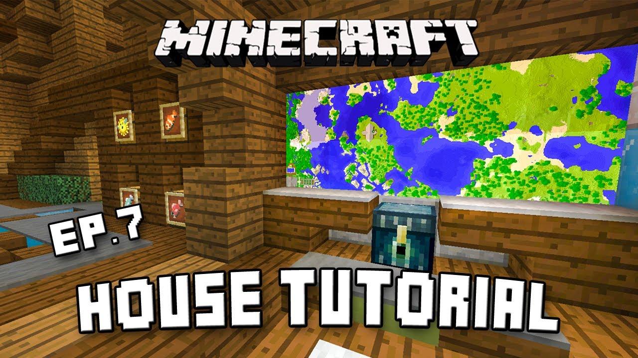 Minecraft house tutorial modern interior design ideas for Interior designs minecraft