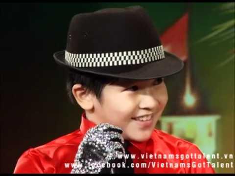 Bé Đăng Khoa 10t - nhảy Michael Jackson - Vietnam's Got Talent