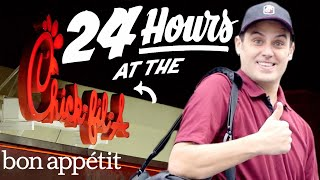 Working 24 Hours Straight at Chick-fil-A   Bon Appetit