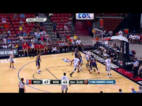 Summer League: Washington Wizards vs Minnesota Timberwolves