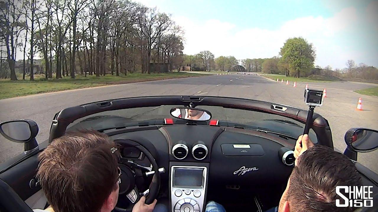 Un petit tour de piste avec une Koenigsegg Agera