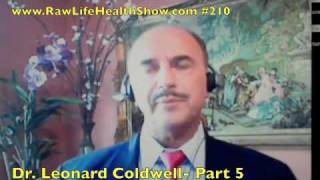 Dr. Leonard Coldwell On Vegan Diet, Supplements And More