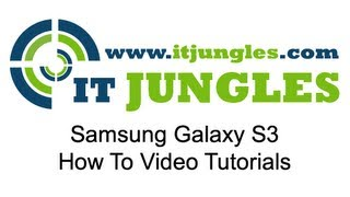 Samsung Galaxy S3: How To Enable USB Debugging