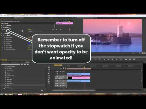 Premiere Pro CS6: 68 Color 21: Blend Modes 2: Lens Flare