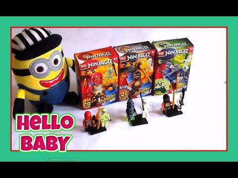 Bộ lắp ghép Lego NINJAGO_Chơi Đồ Chơi Trẻ Em Với Minion(tập 7)|Hello BABY!!!