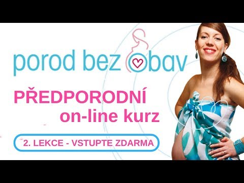 Porod bez obav - Lekce 2.