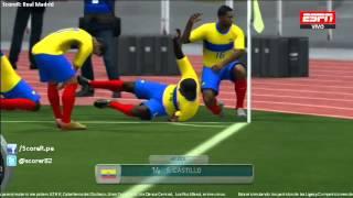 Ecuador Vs Uruguay Fecha 17 Eliminatorias Brasil 2014