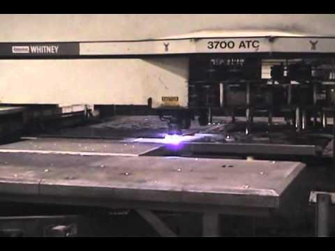 Whitney 3700 Punch/Plasma Turret Press, Got Machinery, GotMachinery, Perfection Machinery