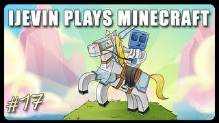 iJevin Plays Minecraft: VILLAGE HORSE STABLES! (Ep. 17)