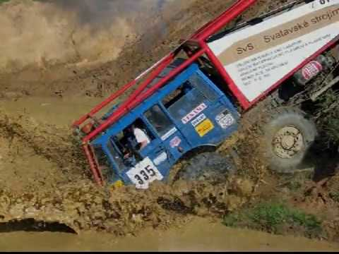 Tatra 815,813 truck trial extreme off-road part1
