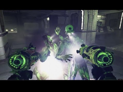 Call of Duty: Black Ops &quot;Zombie Labs&quot; - NEW MOON GAMEPLAY! - Rezurrection Map Pack 4 DLC