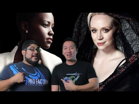 Lupita Nyong'o and Gwendoline Christie join Star Wars Episode 7 (John and Mike Show)