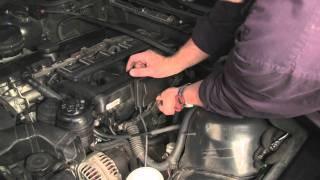 Руководство по ремонту системы вентиляции картерных газов на двигателях M54. Часть 3