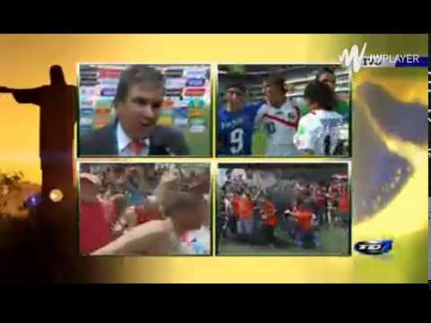 Reacciones - Jorge Luis Pinto - Italia - Costa Rica.