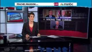 Rachel Maddow: John McCain not Credible on Foreign Policy