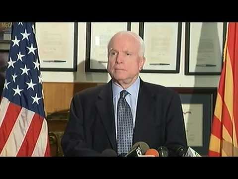 AZ Sen. John McCain addresses border crisis