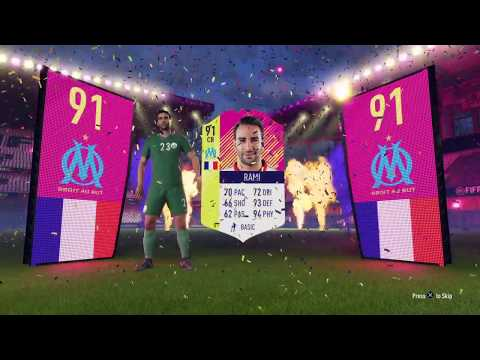 FIFA 18 +91 RATED FOF PLAYER IN PACK!!! Draft Winning Pack Opening + Draft Squad Builder
