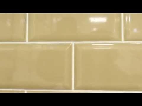 Metro Brick Gloss Duck Egg 10cm x 20cm Wall Tile