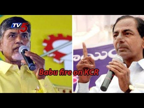 TDP leader Chandrababu Fires On Jagan & KCR