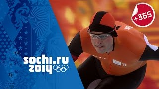 Men's Speed Skating 5000m Full Event - Kramer Sets Olympic Record | #Sochi365