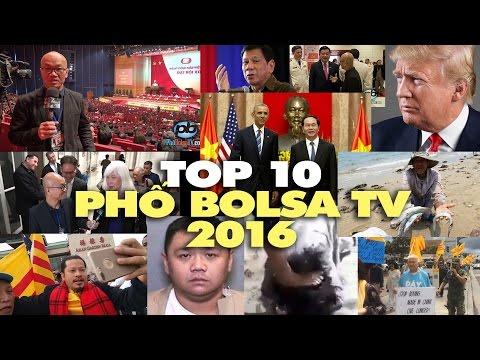 TOP 10 - Mười sự kiện nổi bật nhất trên Phố Bolsa TV trong năm 2016