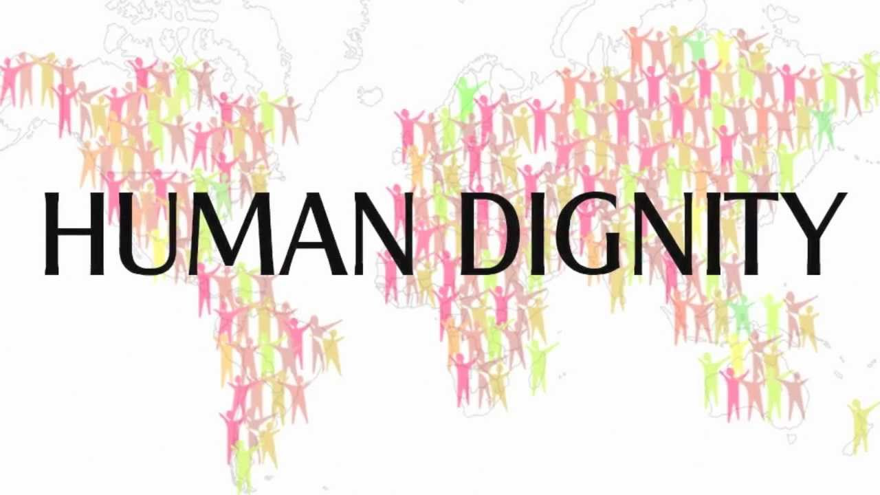 human dignity We use words like rights and dignity with such ease it's time we reflected on their origins.