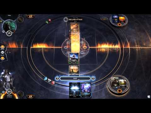 Hex: Shards of Fate TCG - Alpha PvP - Gameplay - Inspire deck - 2