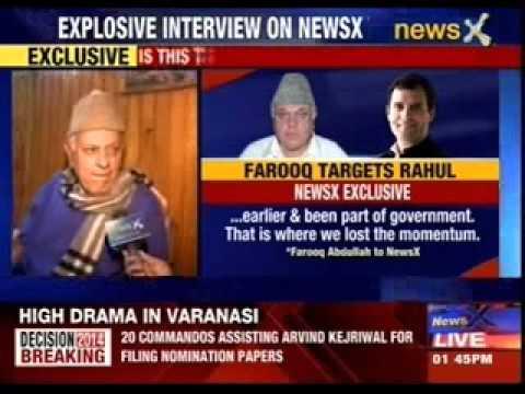 Farooq Abdullah slams Rahul Gandhi and the UPA government